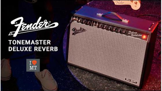 Новый видеообзор: Tone Master Deluxe Reverb..