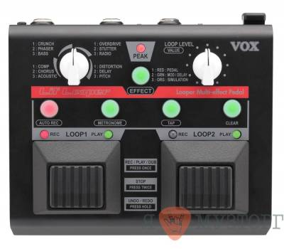 Купить VOX LIL LOOPER VLL-1 Педаль эффектов онлайн