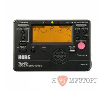 Купить KORG TMR 50 BK Тюнер-метроном онлайн