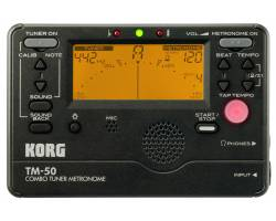 KORG TM-50C BK Тюнер-метроном