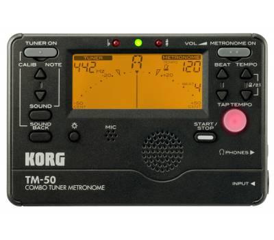 Купить KORG TM-50C BK Тюнер-метроном онлайн