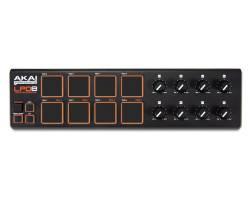 AKAI LPD8V2 MIDI контроллер