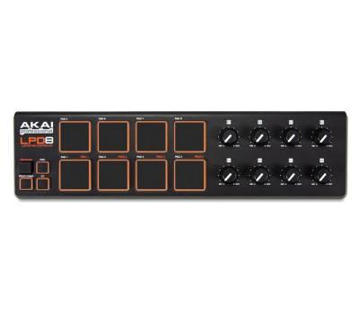 Купить AKAI LPD-8 MIDI контроллер онлайн