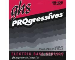 GHS STRINGS M8000 PROGRESSIVES Струни для бас-гітар