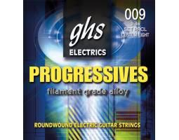 GHS STRINGS PROGRESSIVES PRCL Струны для электрогитар