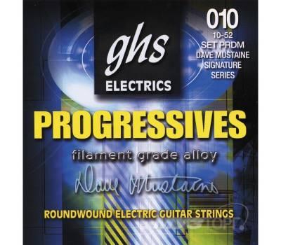 Купить GHS STRINGS PROGRESSIVES PRDM 10-52 Струны для электрогитар онлайн