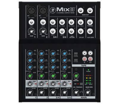 Купить MACKIE MIX8 Микшерный пульт онлайн