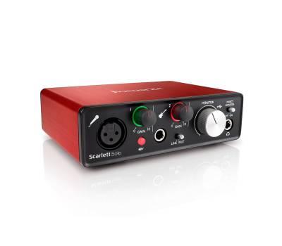 Купить FOCUSRITE SCARLETT SOLO NEW Аудиоинтерфейс онлайн