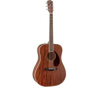 FENDER PM-1 DREADNOUGHT ALL MAHOGANY WITH CASE NATURAL Гитара акустическая