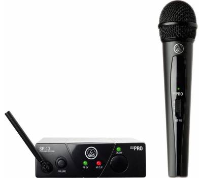 Купить AKG WMS40 Mini Vocal Set BD US25C Микрофонная радиосистема онлайн