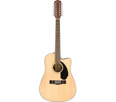Купить FENDER CD-60SCE-12 NATURAL Гитара электроакустическая онлайн
