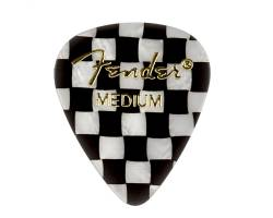 FENDER 351 SHAPE PREMIUM PICKS CHECKER MEDIUM Медіатор