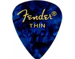 FENDER 351 SHAPE PREMIUM PICKS BLUE MOTO THIN Медіатор