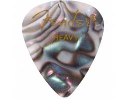 FENDER 351 SHAPE PREMIUM PICKS ABALONE HEAVY Медиатор