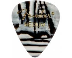 FENDER 351 SHAPE PREMIUM PICKS ZEBRA MEDIUM Медіатор