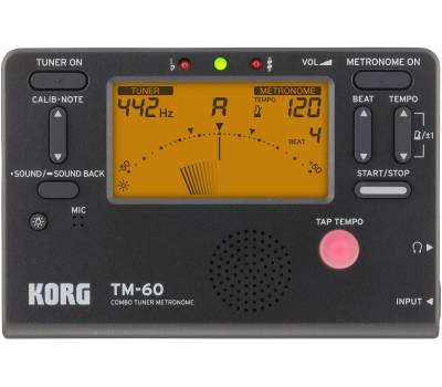 KORG TM-60-BK Тюнер-метроном
