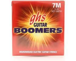 GHS STRINGS BOOMERS GB7M Струни для електрогітар