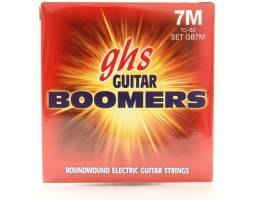GHS STRINGS BOOMERS GB7M Струны для электрогитар