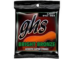 GHS STRINGS BRIGHT BRONZE SET BB30L Струни для акустичних гітар