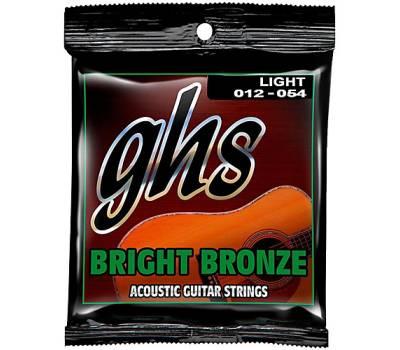 GHS STRINGS BRIGHT BRONZE SET Струны для акустических гитар